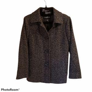 London Fog|Women's Wool Blend Coat| Tweed